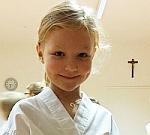 Samurai-Kids: Sophia Pertschy zählt zu den Jüngsten im Training