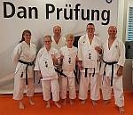 Hohe Kunst des Shotokan mit Dan-Diplome belohnt