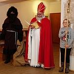 Nikolaus besucht gemeinsam mit seinem Krampus den Kampfkunst-Sportverein